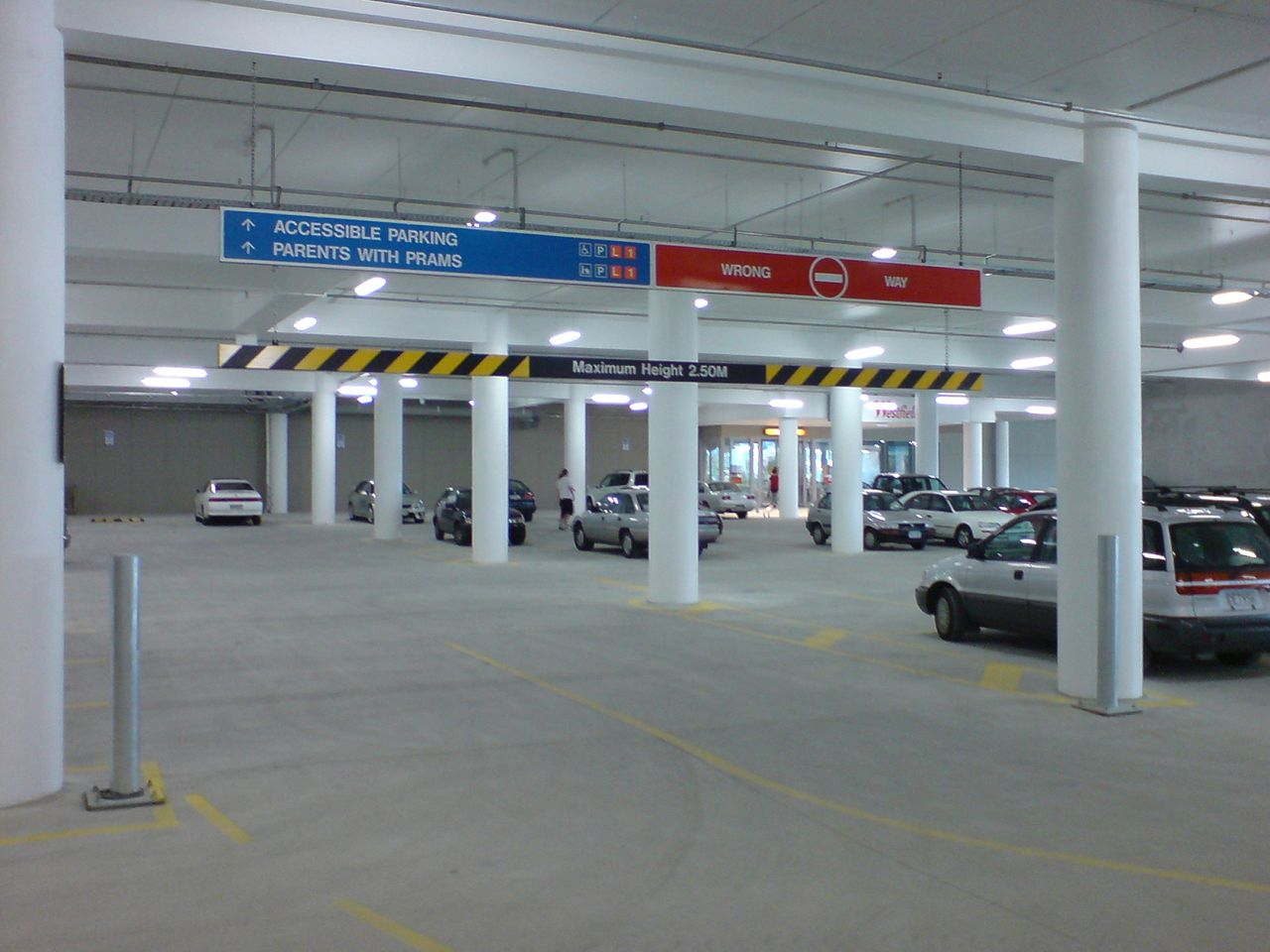 Car Parks Customer Service Conduit