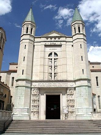 Rita of Cascia - Basilica of Saint Rita at Cascia.