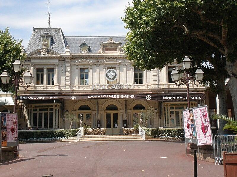 Le casino de Lamalou-les-Bains (Hérault, 34)