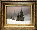 Caspar david friederich, paesaggio invernale, 1811 ca.jpg