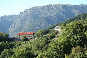 Castanet-le-Haut - Croix de Mounis, l'Espinouse