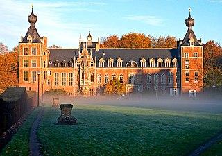 Kasteel van Arenberg château in Leuven, Belgium