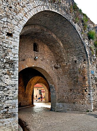Ioannina - The main entrance to the medieval fortress of the city.