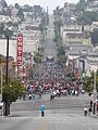 Castro Street Pink Saturday 2008 June 29.jpg