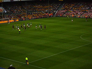 Catalonia national football team -  Catalonia vs Basque Country team playing in Camp Nou