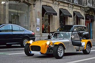 Open-wheel car - Image: Caterham Roadsport SV Flickr Alexandre Prévot (1)