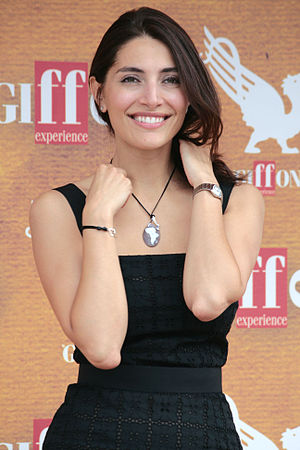 Caterina Murino - Murino at the Giffoni Film Festival in July 2010