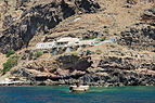 Cave houses in the crater rim near Fira - Santorini - Greece - 01.jpg