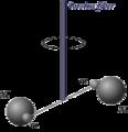 CavendishExperiment TorsionFiber.png