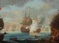 Cena da Batalha do Nilo, 1 a 3 de Agosto de 1798 (escola europeia, séc. XIX).png