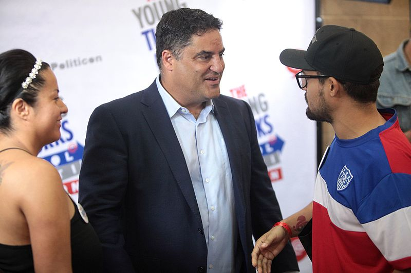 File:Cenk Uygur with attendees (27903299641).jpg Description Cenk Uygur speaking with attendees at the 2016 Politicon at the Pasadena Convention Center in Pasadena, California. Please attribute to Gage Skidmore if used elsewhere.
