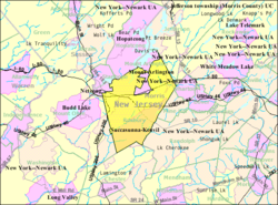 Chester New Jersey Map.Roxbury Township New Jersey Wikipedia