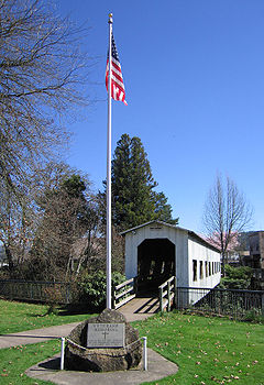 Centennial Bridge Cottage Grove Oregon