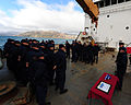 Ceremony on board the Juniper during Operation Nanook 2012, 120915-G-NB914-075.JPG