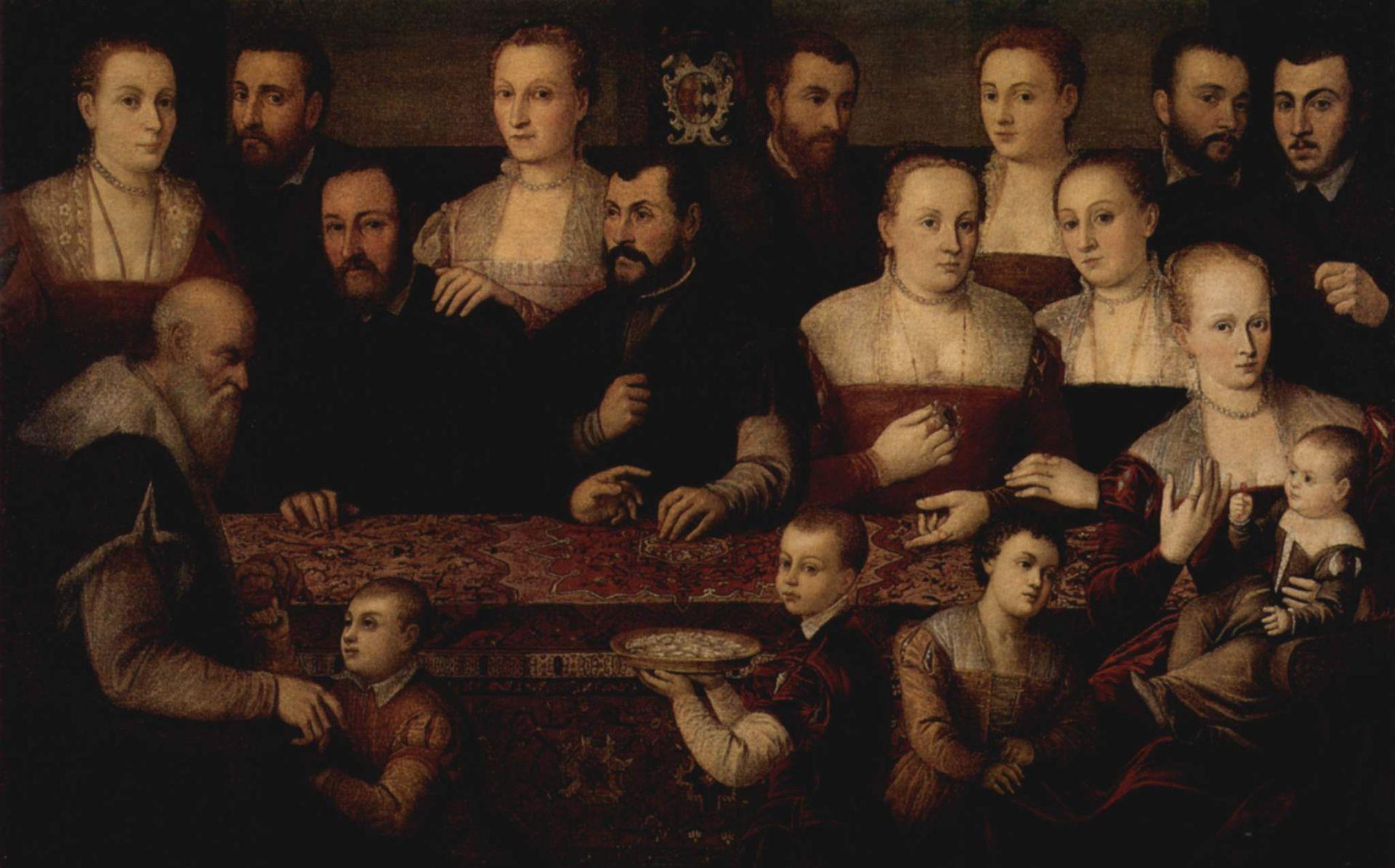 Cesare Vecellio, Ritratto di famiglia