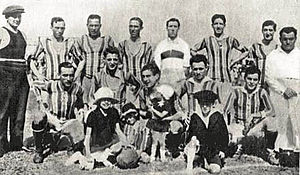 Chacarita Juniors - Chacarita in 1924, when winning the División Intermedia title.