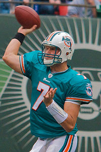 Chad Henne Jets-Dolphin game, Nov 2009 - 049.jpg