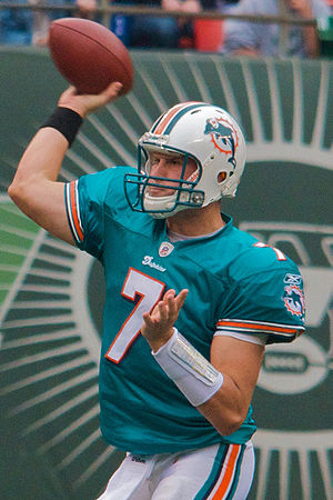 Chad Henne - Henne vs. the New York Jets in 2009.