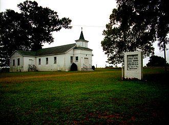Christian Methodist Episcopal Church - Chalk Level C.M.E. Church in Harnett County, North Carolina