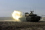 Challenger II Basra 2008