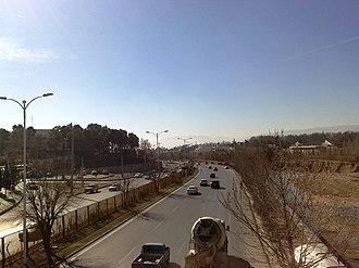 Chamran Expressway - Image: Chamran 2