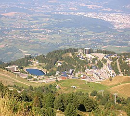 A general view of Chamrousse
