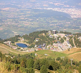 Chamrousse - A general view of Chamrousse