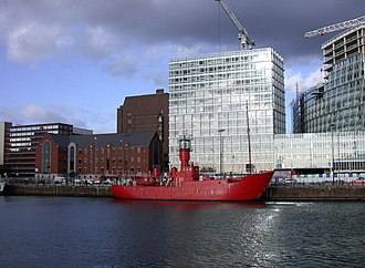 Channel Light Vessel Automatic - Image: Channel Light Vessel 23 at Canning Dock geograph.org.uk 720220