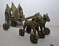 Chariot with Bulls - Bronze - Circa 19th Century CE - ACCN 00-V-83 - Government Museum - Mathura 2013-02-24 6526.JPG