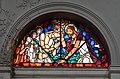 Charleroi - église Saint-Antoine-de-Padoue - vitrail - Ransy-Carpet - 1959 - le baptême de Jésus - 01.jpg
