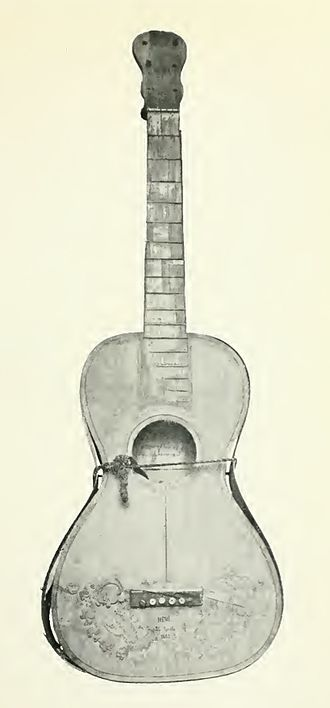 Charles Gounod - Gounod's guitar.