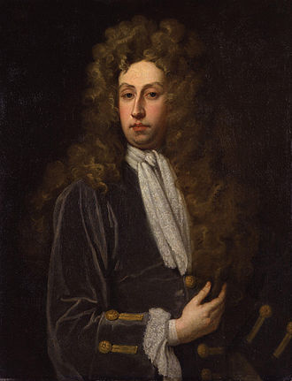 Charles Montagu, 1st Duke of Manchester - Portrait of Charles Montagu by Godfrey Kneller, circa 1711