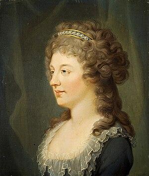 Charlotte Stuart, Duchess of Albany - Charlotte Stuart by Hugh Douglas Hamilton, Scottish National Portrait Gallery