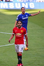 11a77b20bfd28 Falcao playing for Manchester United in 2015