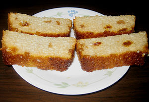 South Asian sweets - Slices of Chhena Poda
