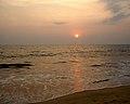 Cherakallu, Kizhunna beach Sunset.JPG