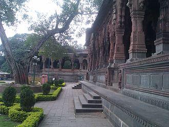 Krishna Bai Holkar - Chhatri of Krishnabai Holkar