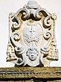 Chiesa di San Giorgio, facciata, stemma nella lunetta (Rovolon).jpg