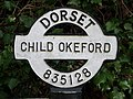 Child Okeford, finger-post detail - geograph.org.uk - 1752195.jpg