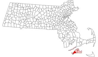 Chilmark, Massachusetts - Image: Chilmark ma highlight