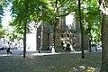 Choir entrance Janskerk Utrecht, Janskerkhof.JPG