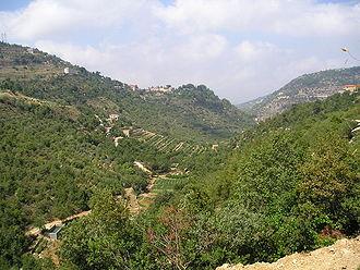 Chouf District - Chouf Mountains