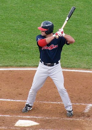 Chris Carter (left-handed hitter) - Image: Chris Carter Pawtucket Red Sox