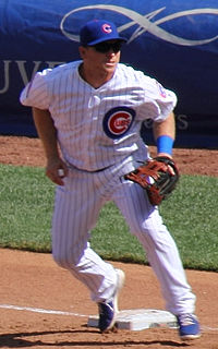 Major League Baseball infielder in the Chicago Cubs organization