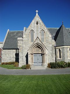 Christs College Chapel Church in Christchurch Central City, New Zealand