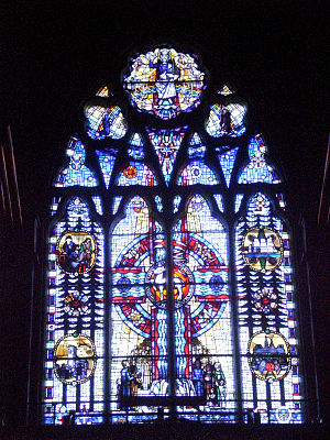 Christ Church Cathedral (Ottawa) - North side window
