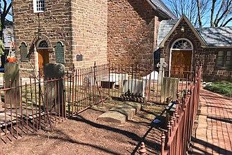 Christ Church, New Brunswick, New Jersey - Reverend Abraham Beach gravesite
