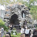 Christening at St Lucy grotto jeh.jpg