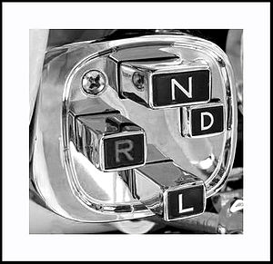 Chrysler PowerFlite transmission - Image: Chrysler imperial dash push button transmission=1956
