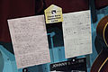 Chuck Berry's Handwritten Lyrics - Rock and Roll Hall of Fame (2014-12-30 12.20.05 by Sam Howzit).jpg